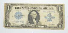 "HUGE Horse Blanket 1923 $1 Silver Certificate Large Size Note Over 7"" Long *728"