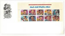 USA Scott # 2724-2730 29c Rock & Roll Sheet On Artcraft First Day Cover (AZ82)