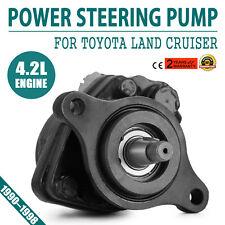 Fit Toyota Land Cruiser 80 Series HZJ80 Power Steering Pump 1HZ 4.2L Diesel