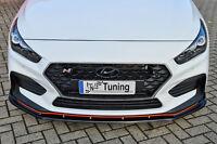 Sonderaktion Spoilerschwert Frontspoiler ABS für Hyundai I30N + Performance ABE