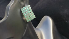 8.16 CARAT Natural Emerald Earrings / Brazilian Emerald /ARTIST SIGNED 39.45 tcw