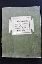 1791 Military Manuscript Metallurgy Iron Essays used by French Army