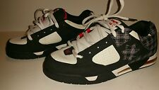 Trashed Size 12US DC Shoes Command Skate Shoes Gray Red White Black