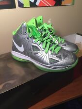 Nike Lebron 8 PS Dunkman Size 10.5 NEW 441946-002 DS Nike Electric Green