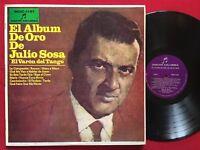 JULIO SOSA ~ EL VARON DEL TANGO ~ RARE LATIN LP ~ DISCOS COLOMBIA MDC 1151