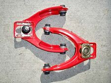 96-00 Honda Civic EK EM HB Front Upper Control Arm w/Camber + Ball Joint Red