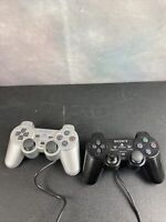 Sony Playstation 2 OEM Analog Controllers SCPH-10010 Dualshock 2 Lot Of 2