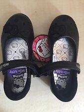 Hello Kitty Girls Black Shoes Size 7/24 BNWT