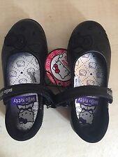 Hello Kitty Girls Black Shoes Size 7/24 BNWT