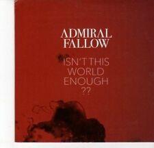 (DJ633) Admiral Fallow, Isn't This World Enough?? - DJ CD