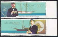 Monaco 1996 Boats/Ships/Exploration/Royalty/Nautical/Transport 2v set (n39296)