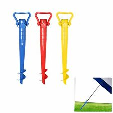 Beach Umbrella Beach Sand Holding Stand Parasol Screw Holder Outdoor Activity