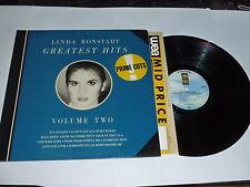 LINDA RONSTADT - Greatest Hits Volume 2 - German LP