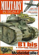 Military In Scale Nov.09 French B1 Bis REME Fitters Vehicle Panzer Tree Foliage