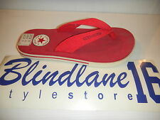 INFRADITO CONVERSE ROSSE GOMMA CHUCK TAYLOR SANDAL 1X695 EUR N 36 UK 3.5
