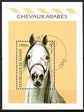 0099+ TIMBRE GUINEE  BLOC  CHEVAL    1995