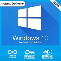 INSTANT DELIVERY WINDOWS 10 PROFESSIONAL 32 / 64 BIT ACTIVATION LICENSE KEY