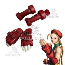 STREET FIGHTER 5  Cammy White Cosplay Gloves Arm Guard Band Handmade Prop New