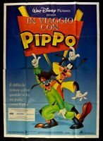 Manifesto IN Reisekit Mit Goofy Animation Walt Disney Mickey Donald M273