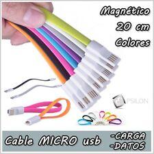 Cable de carga corto 20cm Cable datos Micro USB corto Cable de carga Smartphones