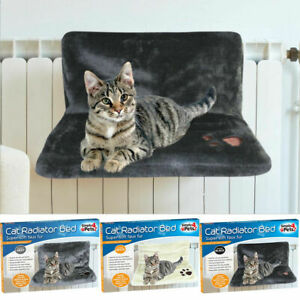 Cat Super Soft Faux Fur Radiator Pet Bed Warm Fleece Basket Cradle Hammock