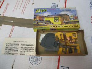 ATLAS HO SCALE TRACKSIDE SHANTY KIT  ATL702 NEW OPEN BOX FAST / FREE SHIPPING