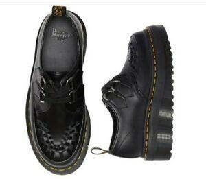 Dr Martin Sidney Polished Smooth Leather Shoes UK 6
