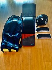 OneWheel Plus w/fender, charger, helmet, bag, good condition only 98 total miles