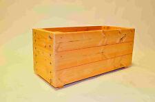 Wooden Trough - Wooden Planter 1m long extra deep& wide Great Garden planter