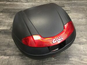 Motorcycle Scooter Givi Rear Storage Luggage Box Trunk Pack