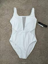 FLIRTY LA BLANCA WHITE ONE PIECE SWIMSUIT SIZE 6 LAST ONE