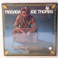 JOE THOMAS: MASADA rare GROOVE MERCHANT vinyl lp STILL SEALED rare!