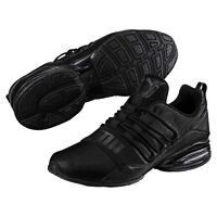 new puma mens cell pro limit running shoes black dark shadow 190596-01 sneakers