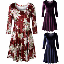 Christmas Party Dresses for Women with Embroidered