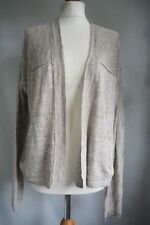 White Stuff Cardigan 12 Grey Beige BNWT