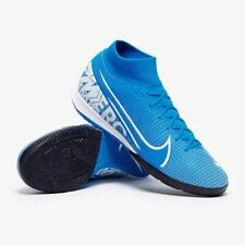 New Nike Mercurial Superfly 7 Academy IC Indoor Soccer Shoes Futsal Blue-White
