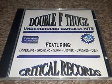 DOUBLE F THUGZ - UNDERGROUND GANGSTA HITS BATON ROUGE LOUISIANA - RAP CD