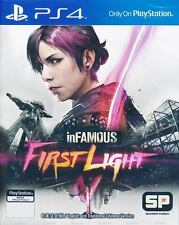 Infamous First Light PS4 Game (English / Chinese) Brand New Sealed