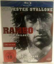 Rambo (Sylvester Stallone)The Trilogy Blu-ray Digipack German version New neuf