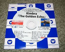 KIMBRA Japan PROMO ONLY CD acetate OFFICIAL genuine THE GOLDEN ECHO