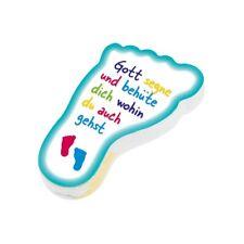 """Handtuch """"Füsschen"""" - Ideal als Kindergeschenk / Schule / Kita (*NEU*)"""