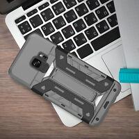 For Samsung Galaxy S9/s9+ Shockproof Hidden Pocket Wallet Card Slot Stand Case