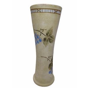 Mikasa stone vase Garden Harvest.