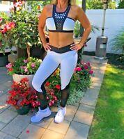 SALE NEW HIGH QUALITY Black and White leggings, Pants, Yoga Pants WORKOUT pants