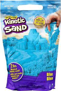 Kinetic Sand The Original Moldable Sensory Play Sand Blue 2 Pounds Natural Sand