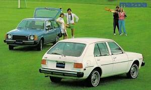 mazda 323 GLC  rwd louvre rear window louver plastic hatch 1976 - 1981 coupe