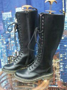 Dr Martens 1B60 black leather boots UK 3 EU 36