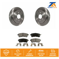 Rear  Disc Rotors & Ceramic Brake Pads For Infiniti QX56 Nissan Armada QX80
