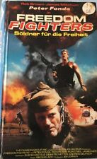 VHS Freedom Fighters - Söldner für die Freiheit (1989) FSK 18 Action Peter Fonda