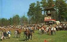TRYON NC Block House STEEPLECHASE RACE Horse Racing Jockeys n CHARLOTTE NC postc